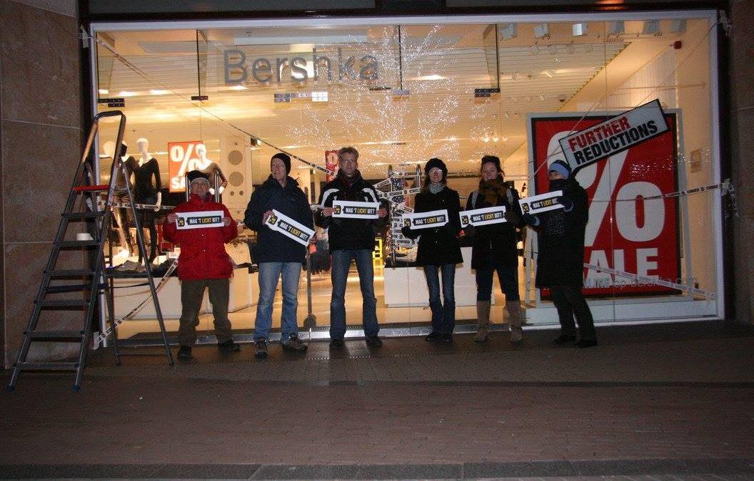 Actie tegen lichthinder in Amersfoort